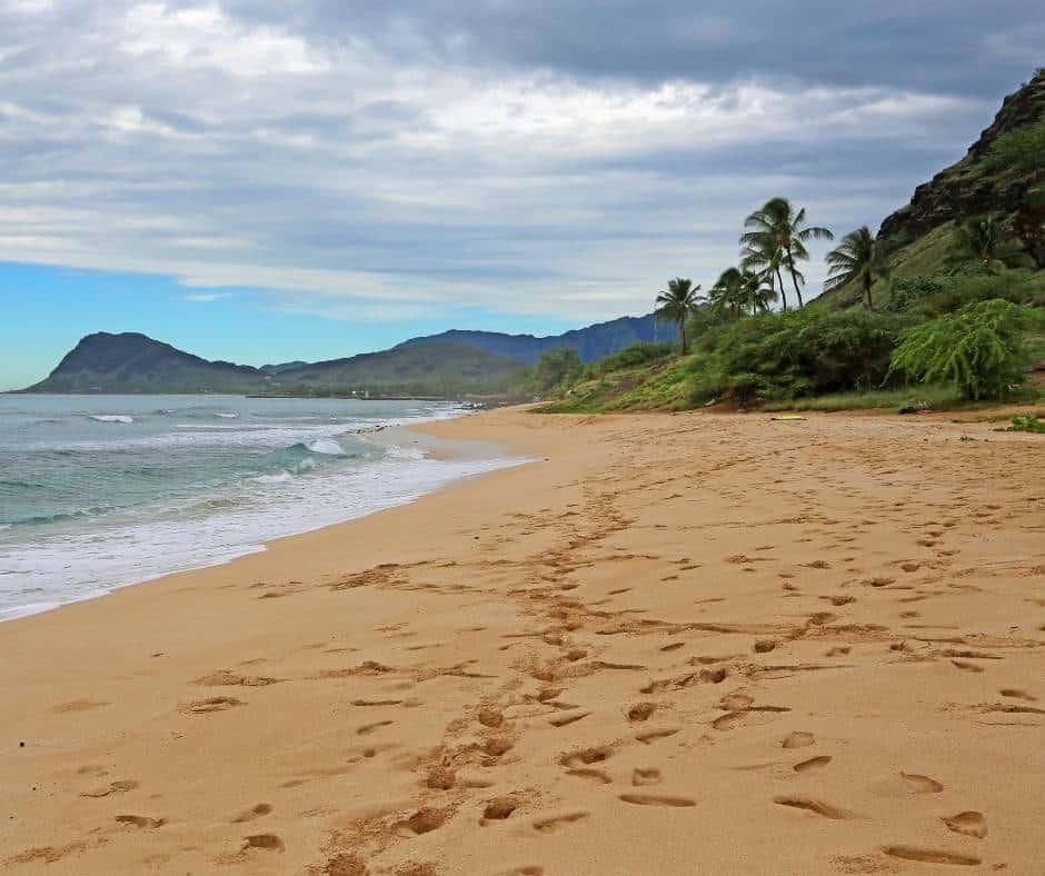 Nanakuli Beach Park in Oahu