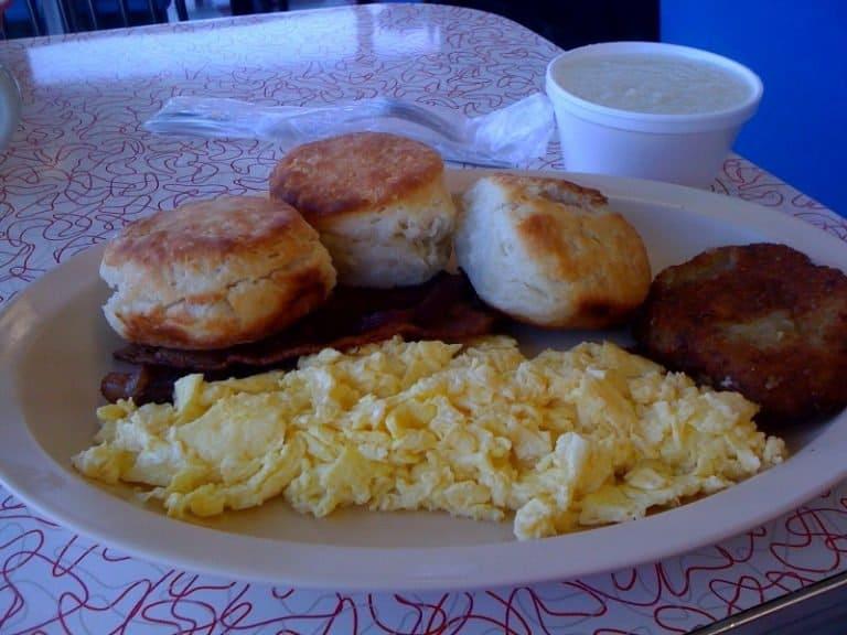 Southern breakfast in Memphis