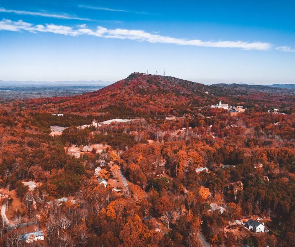 Fall Colors in Georgia
