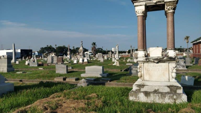 Cemetery in Galveston