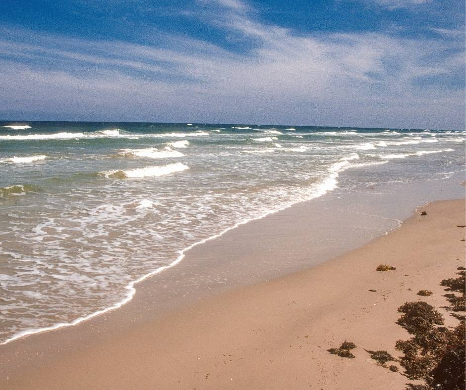 Padre Island National Seashore is one of the best beaches in Texas for families