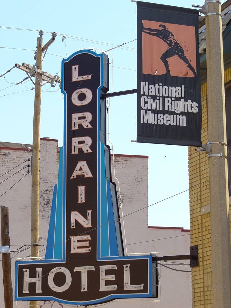 The National Civil Rights Museum in Memphis, Tennessee