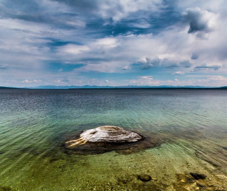 Fishing Cone in Yellowstone National Park