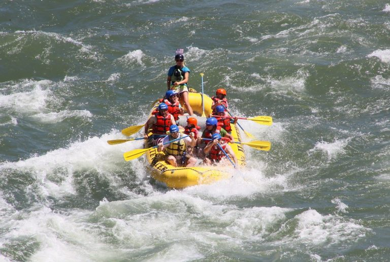 things to do in Gardiner MT include river rafting