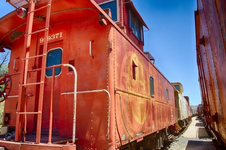 Pacific Southwest Railway Museum hosts the Pumpkin Express every year.