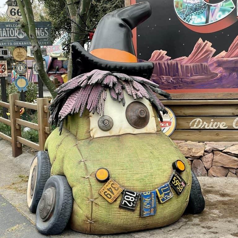 Cars Land Hauloween at Disneyland