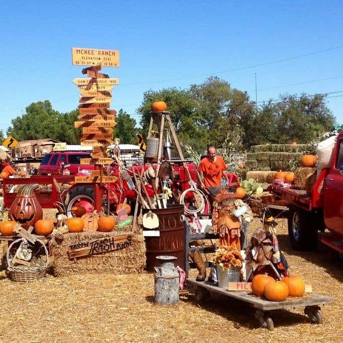 McKee Ranch has one of the best pumpkin patches in Las Vegas