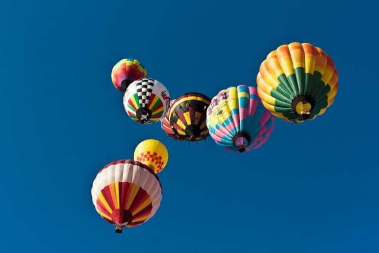 See North Carolina fall colors from above at the Carolina Balloonfest