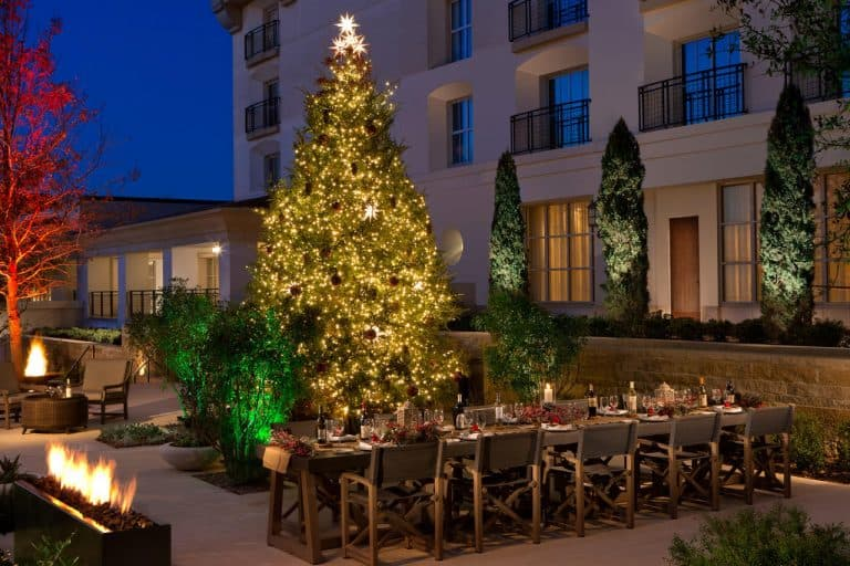 La Cantera Resort during Christmas